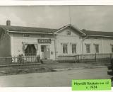 Myymälä Ratakatu num 12 v1934-1