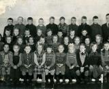 Pakkalan koulun 3 luokka opettaja Pentti Lampinen Vuosi 1951-1952